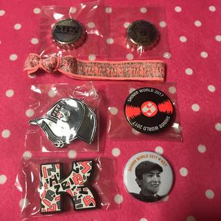 シャイニー(SHINee)のSHINee KEY 缶バッジセット(アイドルグッズ)
