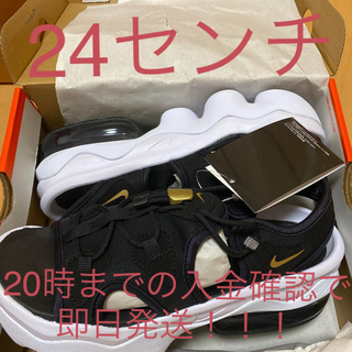 NIKE - 【即発送!】24cm ナイキ 黒  エアマックス ココ ブラック  サンダル