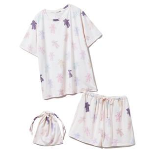 gelato pique - gelato pique ベアTシャツ&ショートパンツ&巾着SET