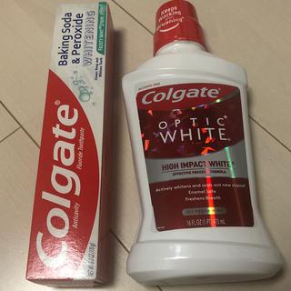 クレスト(Crest)のコルゲート歯磨き粉とマウスウオッシュセット(歯磨き粉)