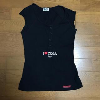 ドルチェアンドガッバーナ(DOLCE&GABBANA)のドルチェ&ガッバーナ ドルガバ 半袖Tシャツ トップス タンクトップ レディース(Tシャツ(半袖/袖なし))