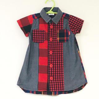 BREEZE - 【1〜2回のみ使用】BREEZE 90cm 半袖 Tシャツ ワンピース