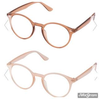 ジーユー(GU)のファッショングラス2個セット(サングラス/メガネ)