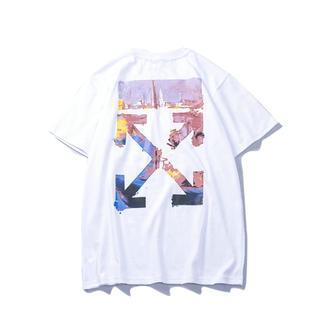 OFF-WHITE - 新品 オフホワイト Tシャツ 2着8000円 男女兼用 8DF162