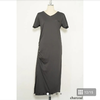 snidel - herlipto Relaxed T-Shirt Long Dress