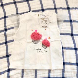 ZARA KIDS - 新品未使用 zara baby カップケーキ Tシャツ 98cm