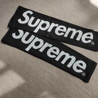 シュプリーム(Supreme)のsupreme アームスリーブ 黒 ブラック(バスケットボール)