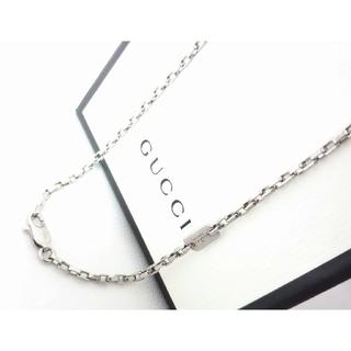 Gucci - 正規品 GUCCI/グッチ スクエアチェーン ネックレス シルバー925