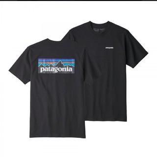 パタゴニア(patagonia)のpatagoniaロゴレスポンシビリティーティシャツ★ブラック★XXL(Tシャツ(半袖/袖なし))