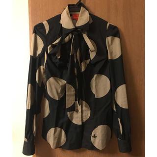 Vivienne Westwood - ヴィヴィアン   リボンシャツ