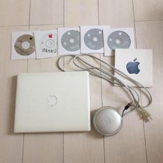 Apple - アップルiBook macOS9.1 ジャンク品