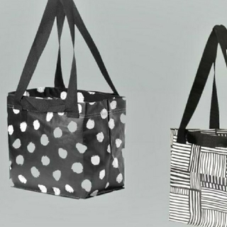 IKEA - イケア♥️人気 エコバッグ♥️スクルッティグ水玉とフィスラのSサイズ☆2枚セット