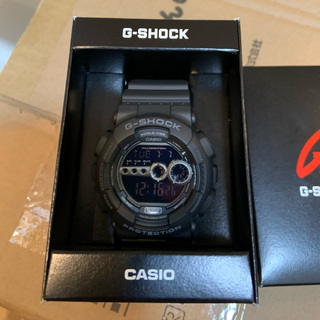 新品未使用 CASIO G-SHOCK カシオ Gショック GD-100-1B(腕時計(デジタル))