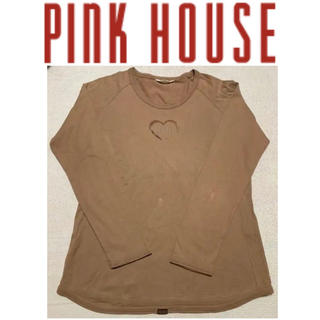 PINK HOUSE - PINK HOUSE ピンクハウス 長袖Tシャツ L