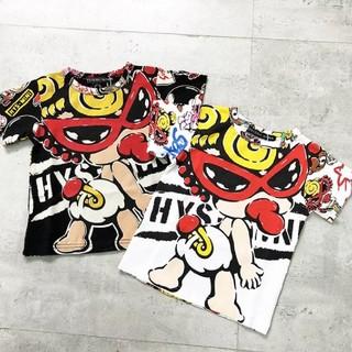 HYSTERIC MINI - ヒスミニ タギングミニ Tシャツ バクプリあり