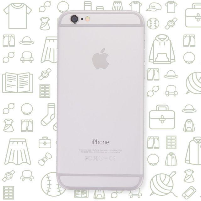 iPhone(アイフォーン)の【B】iPhone6/16/ドコモ スマホ/家電/カメラのスマートフォン/携帯電話(スマートフォン本体)の商品写真