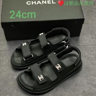 CHANEL - 【美品】24cm     シャネルサンダル