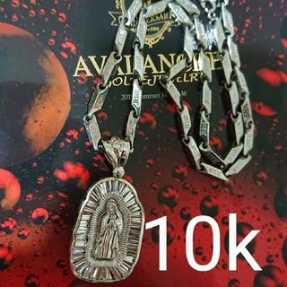 アヴァランチ(AVALANCHE)のアヴァランチ 10k WG マリアペンダント アバランチ k10 アイスリンク(ネックレス)