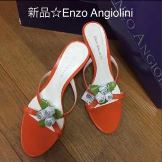エンゾーアンジョリーニ(Enzo Angiolini)の難あり→新品☆エンゾーアンジョリーニ Enzo Angiolini サンダル(サンダル)