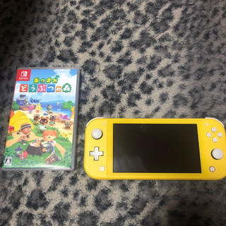 Nintendo Switch - 任天堂 Switch Light あつまれどうぶつの森 セット 値下げ可