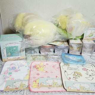 ポケモン - ポケモン 一番くじ A賞 B賞 ピカチュウ ぬいぐるみ C賞 チェスト 14点