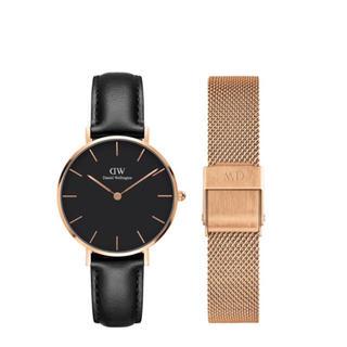 Daniel Wellington - 【32㎜】ダニエル ウェリントン 腕時計DW168+ベルトSET〈3年保証付〉