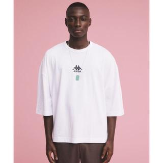 ジエダ(Jieda)のJieDa × KAPPA BIG TEE WHITE ONE SIZE(Tシャツ/カットソー(半袖/袖なし))