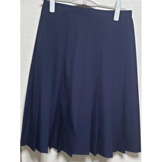 女子制服 夏用 濃紺 プリーツスカート 大きい(衣装)