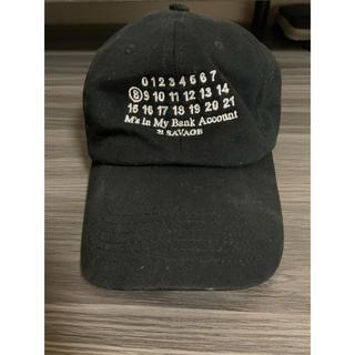 マルタンマルジェラ(Maison Martin Margiela)の【超レア】21savage マルジェラ カレンダータグ オマージュキャップ 帽子(キャップ)