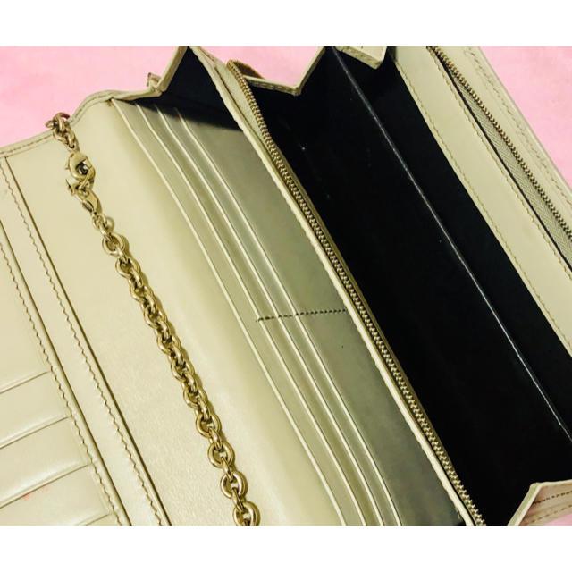 Gucci(グッチ)のグッチ チェーン付ウォレット 長財布 国内正規店購入 レディースのファッション小物(財布)の商品写真