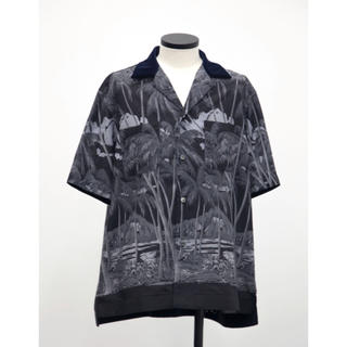 sacai - 未使用 タグ付き sacai sunsurf 2020SS 開襟アロハシャツ