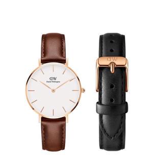 Daniel Wellington - 【32㎜】ダニエル ウェリントン腕時計DW175+ベルトSET〈3年保証付〉