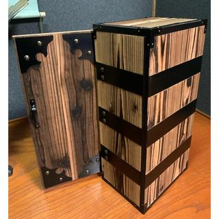 鬼滅の刃 禰豆子の箱 ねずこの箱 木箱 本箱 本棚 書棚