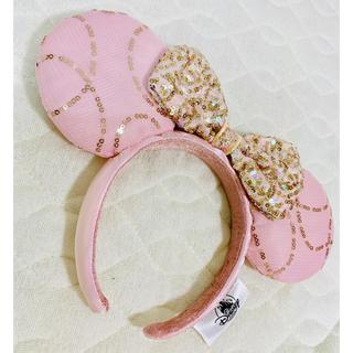 Disney - フロリダ ピンク プリンセス スパンコール 海外ディズニーカチューシャ