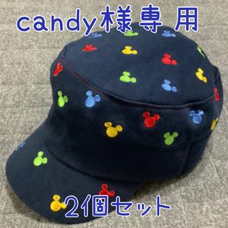 Disney - 【新品】【ディズニー公式】キャップ 帽子 54cm   サイドリブ キッズ