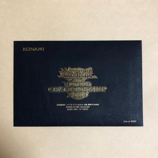 KONAMI - 遊戯王 WCS2019 新品未開封 ノリトシ フィールドセンター付属