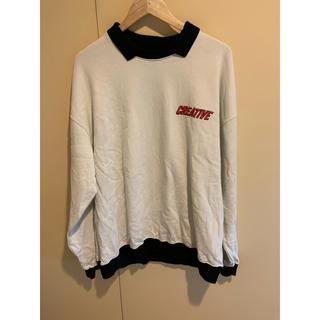 ジーディーシー(GDC)のCreative Drug Store Collar Sweatshirts(パーカー)