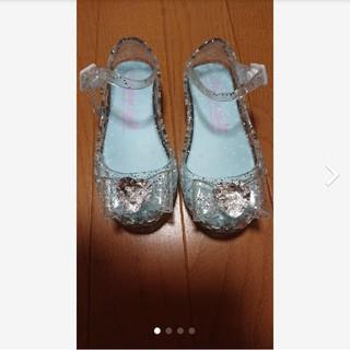 ニシマツヤ(西松屋)のプリンセス風 ガラスの靴風 サンダル 15cm(サンダル)