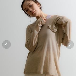 トゥデイフル(TODAYFUL)のNeunaシアーTシャツ(カットソー(長袖/七分))