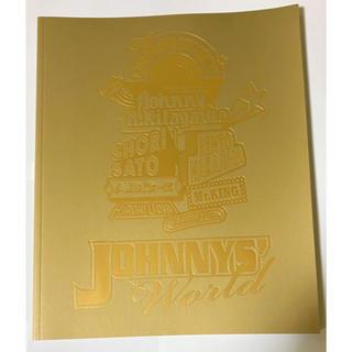 Johnny's - 【美品】JOHNNYS'  World  パンフレット