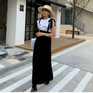 Mila Owen - バースデーバッシュ リボンジャンパースカート