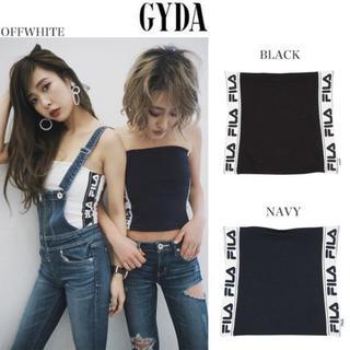 GYDA - [新品]FILA グラフィックラインベアトップ