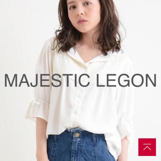 マジェスティックレゴン(MAJESTIC LEGON)のマジェスティックレゴン レースブラウス ミッシュマッシュ スナイデル テチチ(シャツ/ブラウス(半袖/袖なし))