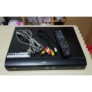 アクオス(AQUOS)の【訳あり】 AQUOS ブルーレイレコーダー HD22 シャープ 250GB(ブルーレイレコーダー)
