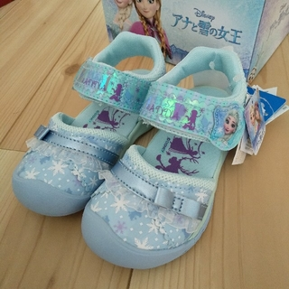 Disney - ムーンスター サンダル アナと雪の女王 16cm