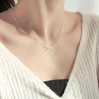 ALEXIA STAM - 予約受付商品♡♡silver925クロスネックレス