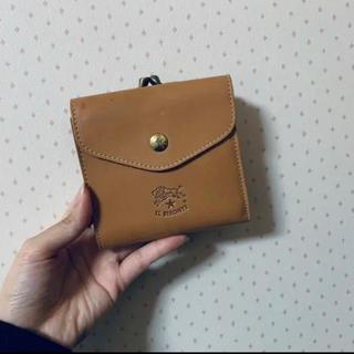 IL BISONTE - 【店舗入荷が少ないヌメ革】イルビゾンテ二つ折りヌメ革財布