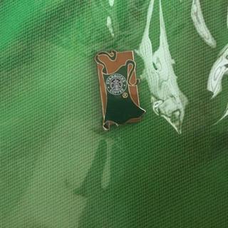 スターバックスコーヒー(Starbucks Coffee)の【スターバックス】カナダ非売品グリーンエプロンバッチ(その他)