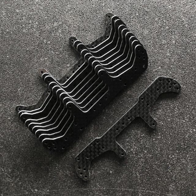 ミニ四駆 ARリアワイドステー x10 エンタメ/ホビーのおもちゃ/ぬいぐるみ(模型/プラモデル)の商品写真