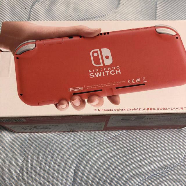 Nintendo Switch(ニンテンドースイッチ)のNintendo Switch NINTENDO SWITCH LITE コーラ エンタメ/ホビーのゲームソフト/ゲーム機本体(家庭用ゲーム機本体)の商品写真